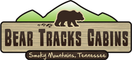 BEAR TRACKS CABINS Logo