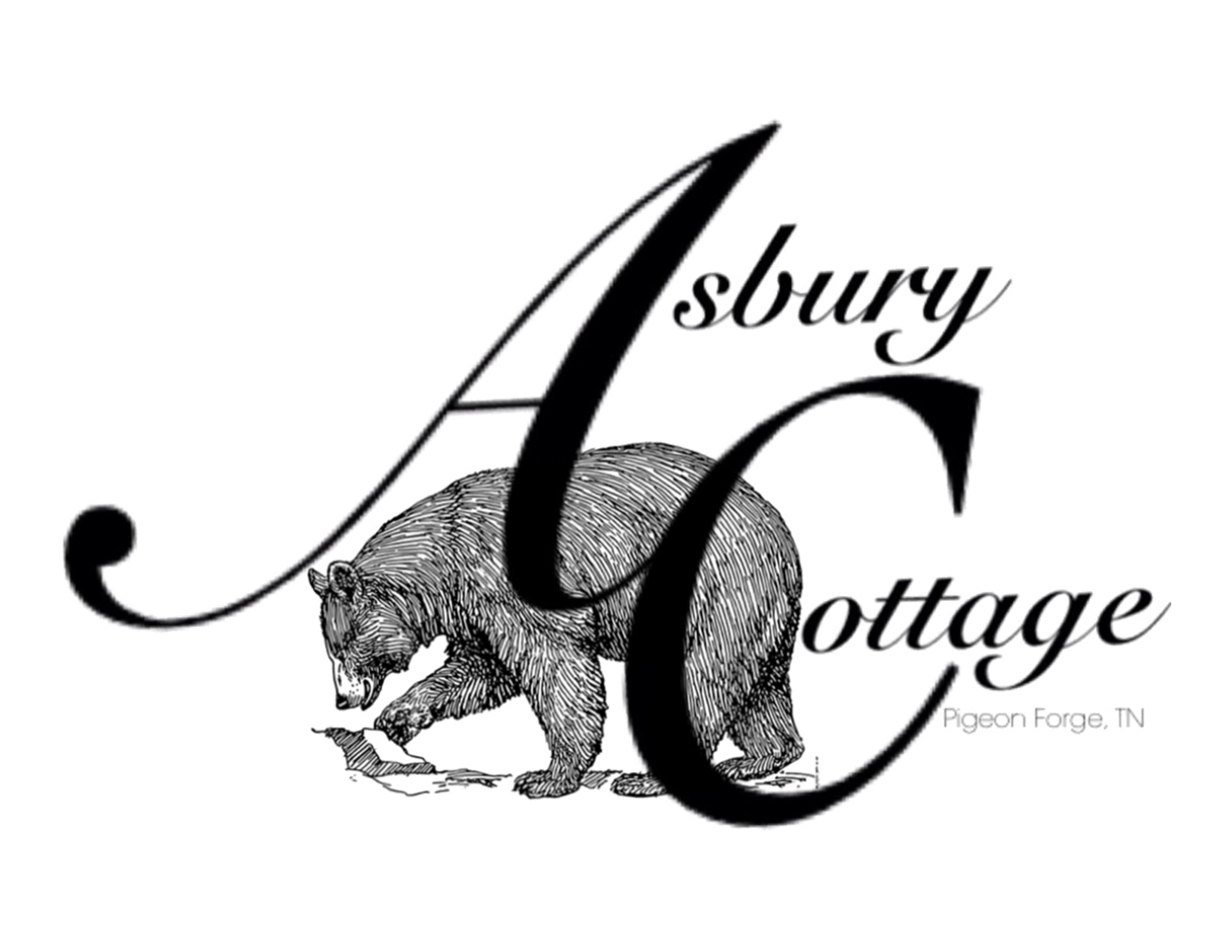 Asbury Cottage ~ Pigeon Forge, TN Logo